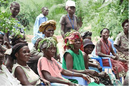 Siku ya Kimataifa ya Wanawake wa Vijijini, Kinshasa (DRC).