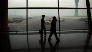 Aeropuerto internacional de Beijing, julio de 2012.