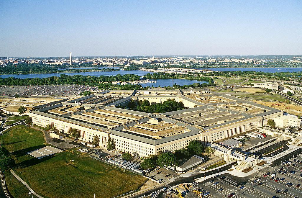 Vue générale du Pentagone, à Washington DC.