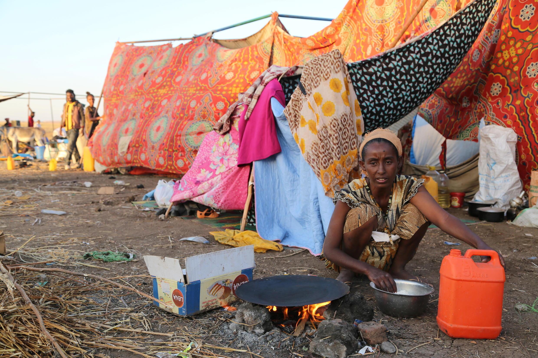 Éthiopie soudan réfugiée tigré