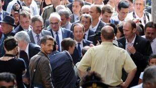 Gần hai phần ba dân Pháp không tán đồng việc nước Pháp can thiệp quân sự  vào Syria - AFP