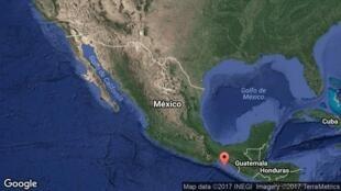 Sismo de magnitude 8,2 atingiu a costa sul do México