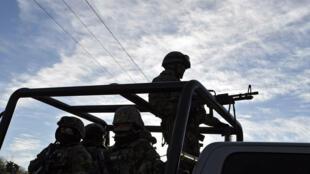 Las agresiones a militares con drones han tenido lugar en los estados Guanajuato (centro), Jalisco (oeste) y la más reciente en Aguililla, en el Michoacán (oeste)