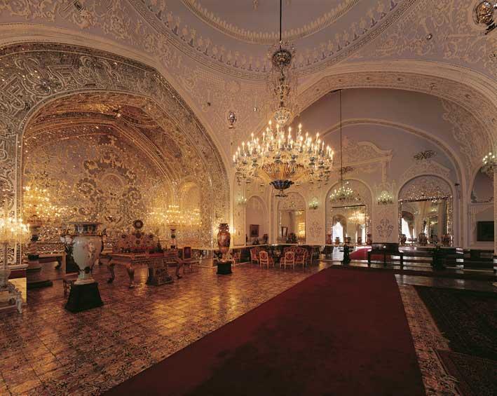 تالار اصلی کاخ گلستان