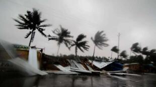 印度奥里萨邦普里 (Puri) 地区遭最强气旋法尼袭击,最高风速一度超过每小时200公里        2019年5月3日