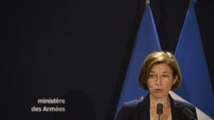 Министр обороны Франции Флоранс Парли