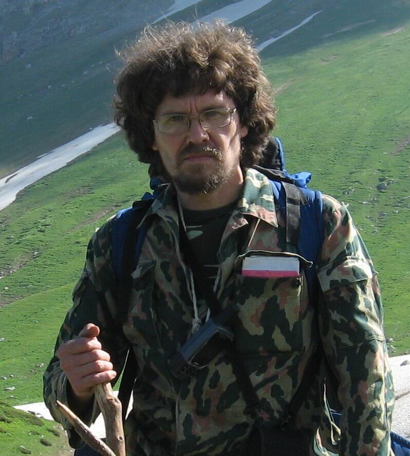 Руководитель «Экологической вахты по Северному Кавказу» Андрей Рудомаха.
