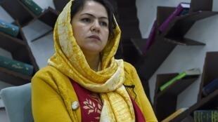 La députée afghane Fawzia Koofi, le 18 février 2019.