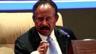 Le Premier ministre soudanais Abdalla Hamdok, le 5 septembre à Khartoum.
