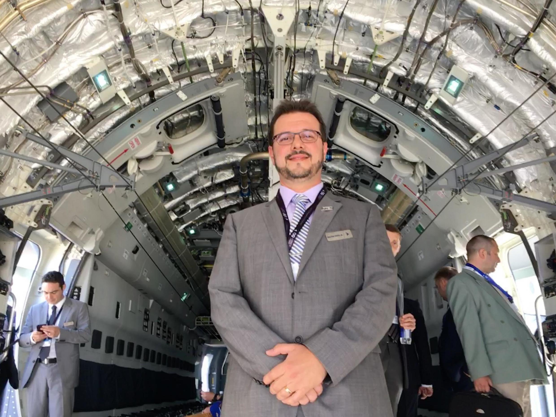 Valter Pinto Junior, vice-presidente dos programas de Defesa e Segurança da Embraer.
