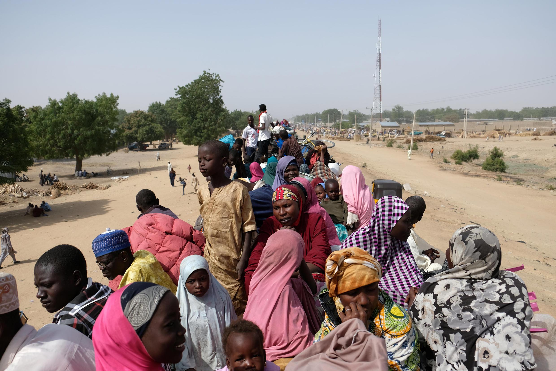 Mutane sun fara komawa garin Bama da ke jihar Borno bayan Boko Haram ta raba su da muhallansu