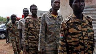 Wasu tsofinJami'an sojin kasar Sudan ta Kudu
