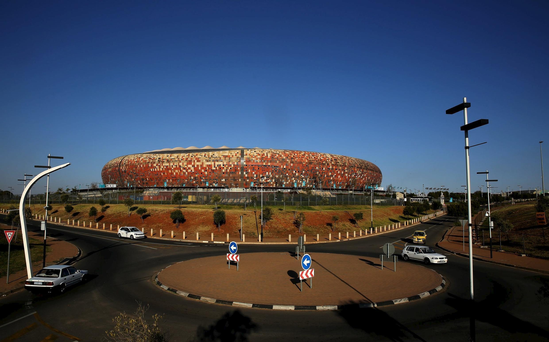 Le Soccer City Stadium qui a notamment accueilli la finale de la Coupe du monde 2010 à Johannesburg.