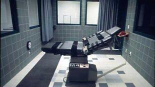 Una sala de ejecución por inyección letal en Estados Unidos.