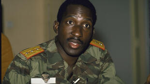 Photo from the Thomas Sankara archives