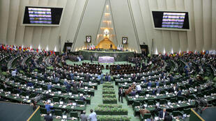 Le Parlement iranien, à Téhéran. 伊朗議會 懾於德黑蘭