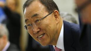 Le secrétaire général de l'ONU Ban Ki-moon laissera son poste à la fin de l'année 2016.