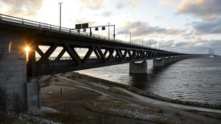 The Oresund bridge-tunnel link between Denmark and Sweden became the latest site of crisis in the European Union's open-border area, with Swedish officials imposing ID checks for all travellers passing from Denmark.