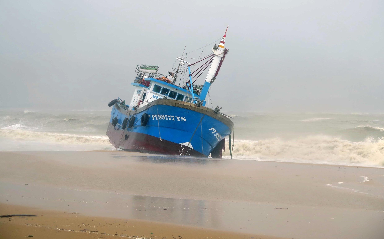 Ảnh minh họa: Một tàu đánh cá của ngư dân tỉnh Bình Định, miền Trung Việt Nam.