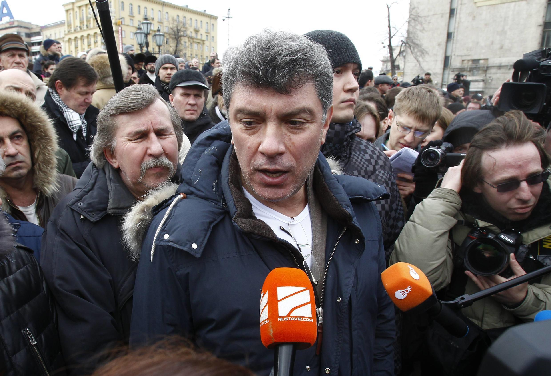 Boris Nemtsov era uma das principais figuras de oposição na Rússia.