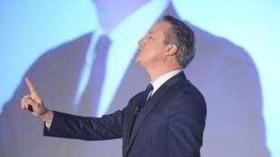 Премьер-министр Великобритании Дэвид Кэмерон на съезде Консервативной партии в Лондоне, 9 апреля 2016 г.