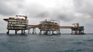 مجتمع گاز پارس جنوبی در خلیج فارس