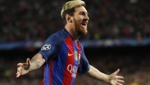 Mshambuliaji wa klabu ya Barcelona Lionel Messi