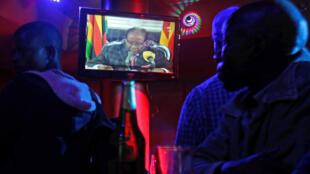 Le président qui s'exprimait à la télévision d'Etat, n'a pas annoncé sa démission.