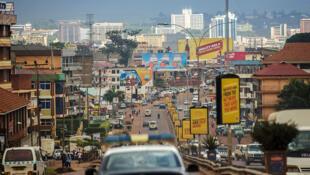 Mitaa ya jiji la Kampala