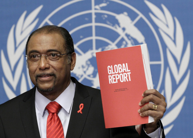 Michel Sidibé, directeur exécutif d'ONUsida.