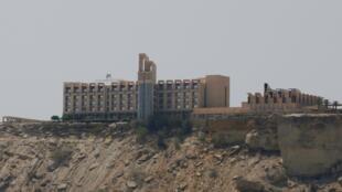 Vue générale de l'hôtel Pearl Continental (PC) à Gwadar, le 11 avril 2017.
