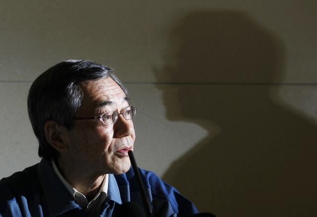 Presidente da Tepco, Masataka Shimizu, durante a coletiva nesta sexta-feira, em Tóquio.