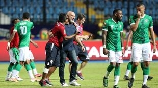 Nicolas Dupuis has steered Madagascar into their first quarter-final at the Africa Cup of Nations.