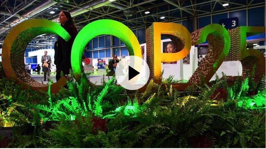 第25屆聯合國氣候大會從12月2日舉行至13日