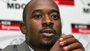 MDC Spokesperson and Minister of Information and Communication Technology Nelson Chamisa
