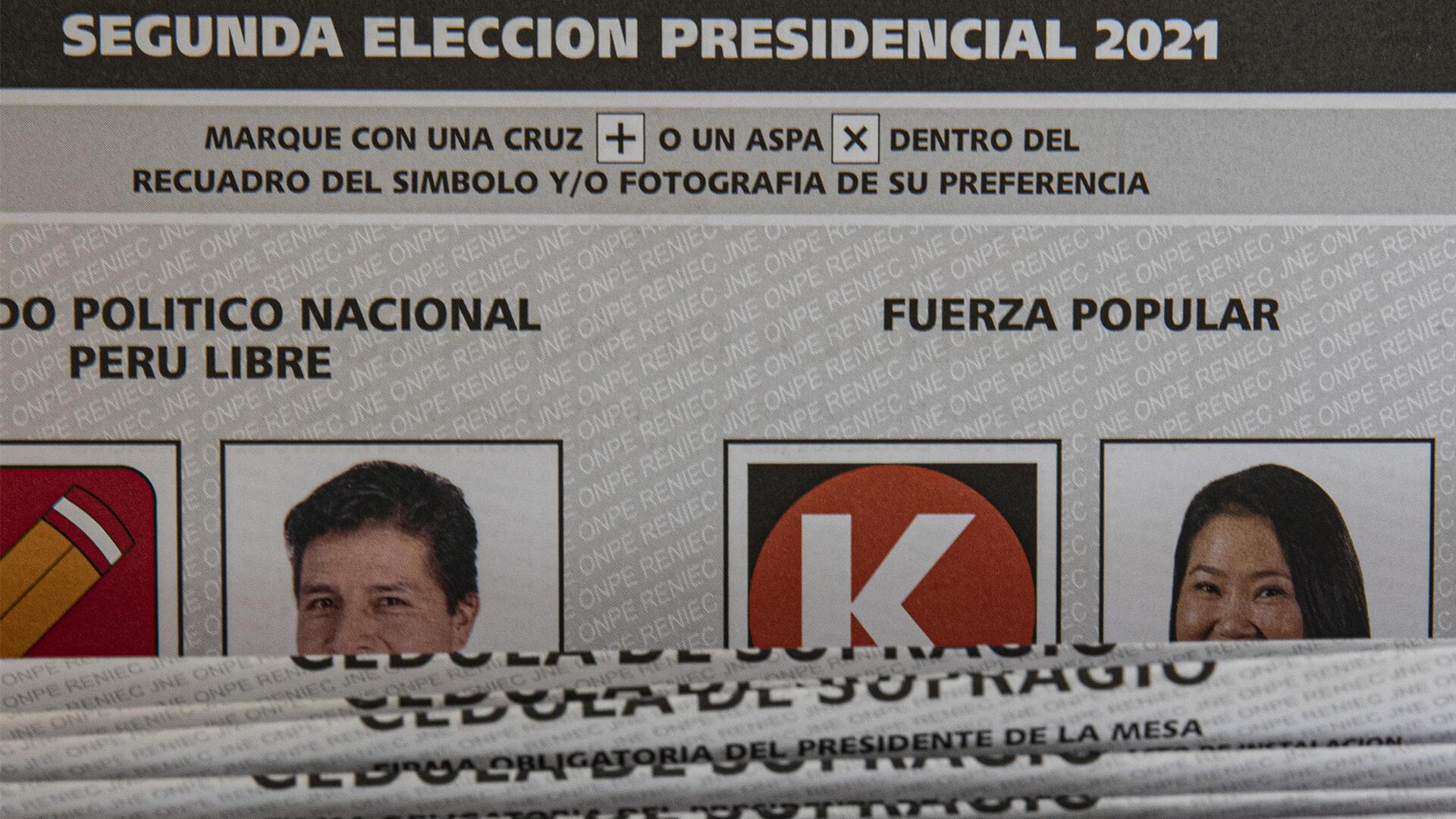 Image RFI Archive : Au Pérou, le résultat final de l'élection présidentielle 2021 n'est pas encore connu.