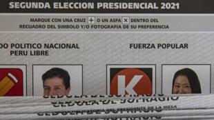 Pérou - Vote - Présidentielle - AP21157729478139