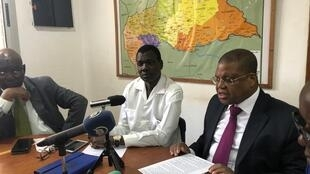 centrafrique election porte parole kamoun tiangaye