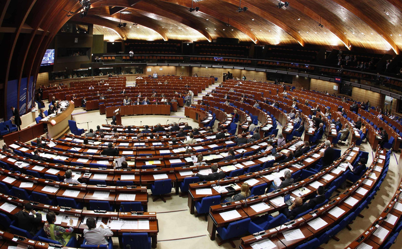 Зал заседаний ПАСЕ. Страсбург 21/06/2011