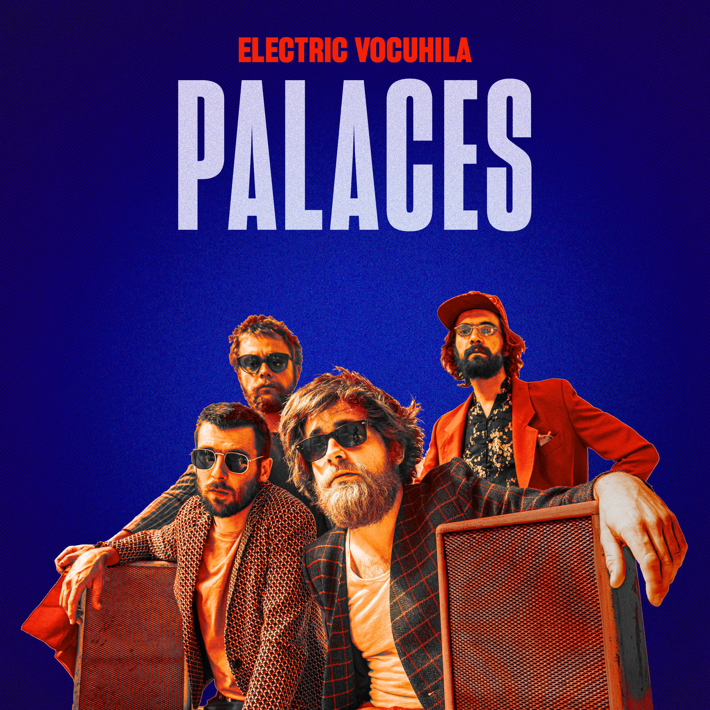 """Electric Vocuhila, a French quartet based in Tours, released their third album """"Palaces"""" on 21 August 2020"""