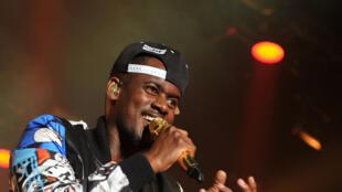 Rapper Alpha Diallo alias  Black M