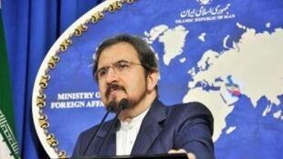 بهرام قاسمی، سخنگوی وزارت امور خارجۀ جمهوری اسلامی ایران