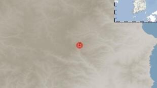 地震发生地观测截图