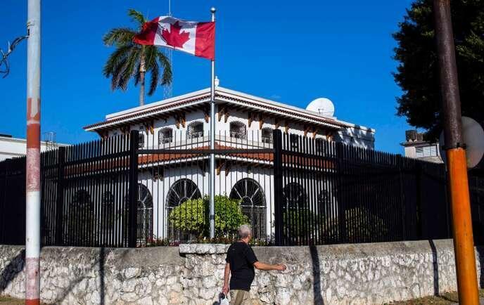 加拿大駐古巴大使館     2018年4月
