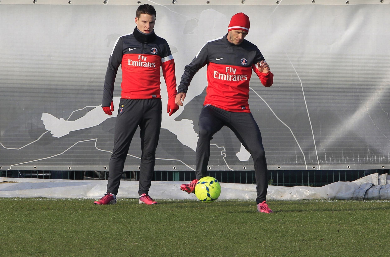 David Beckham treina ao lado de Kevin Gameiro
