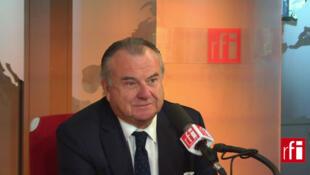 Alain Marsaud, ancien juge antiterroriste, actuel député UMP des Français de l'étranger et président du groupe de travail sur la Syrie à l'Assemblée nationale