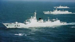 中國海軍軍艦
