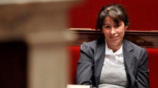 Fadela Amara, secrétaire d'Etat française chargée de la Politique de la ville, mercredi 6 février, à l'Assemblée nationale, à Paris.