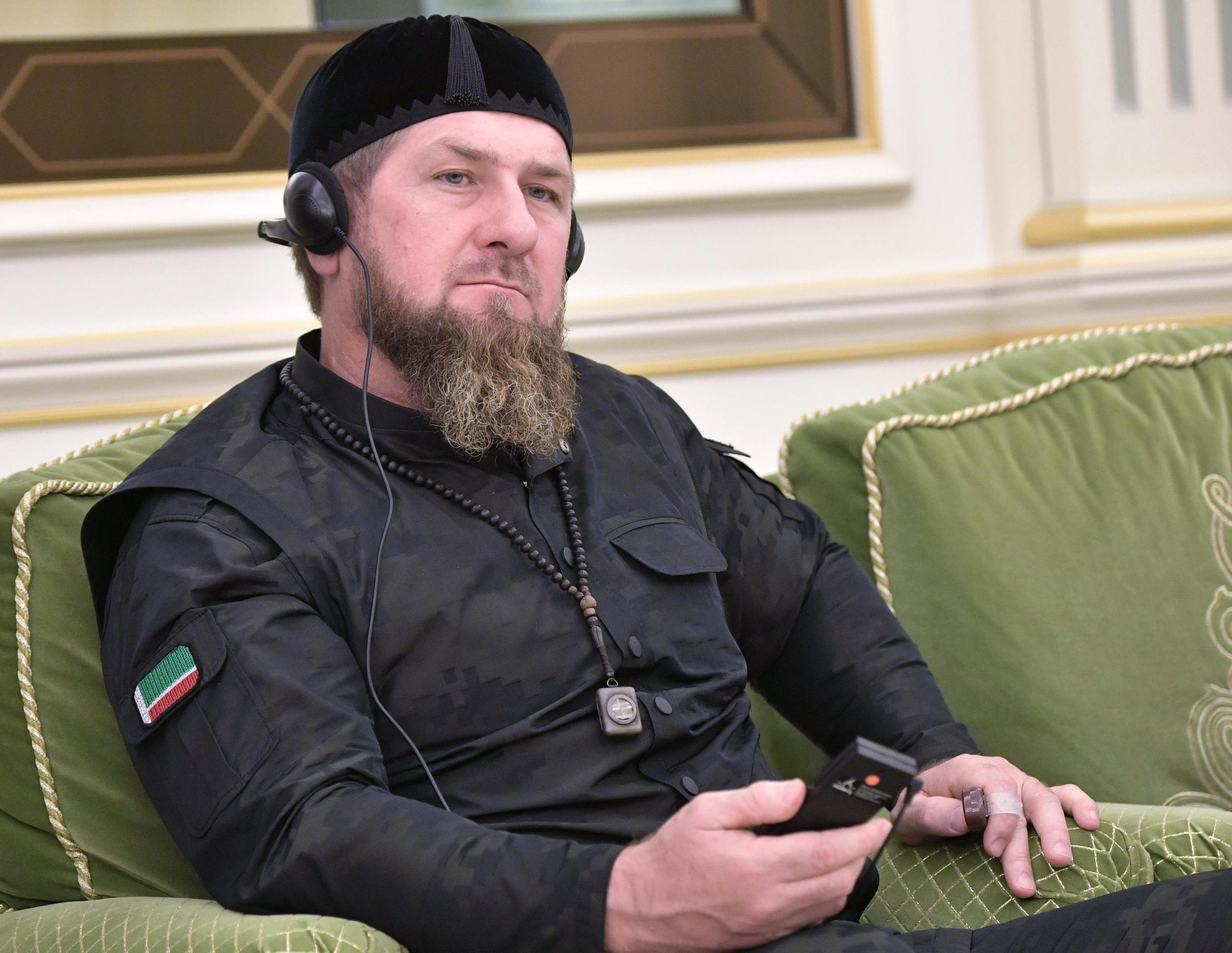 """Chechen leader Ramzan Kadyrov said unrest in involving his compatriots in Dijon was caused by aggression from """"drug dealers"""" and police inaction over the assault of a Chechen teenager."""