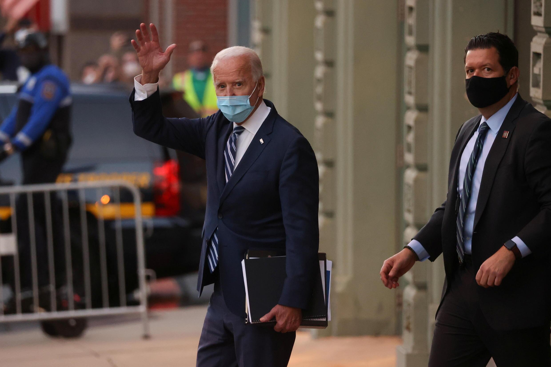 Tổng thống tân cử Mỹ Joe Biden tại Wilmington, bang Delaware, Hoa Kỳ, ngày 10/11/2020.
